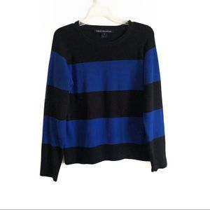 French Connection Striped Pullover Sweater